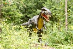 Standbeeld van realistische Gorgosaurus-dinosaurus royalty-vrije stock foto