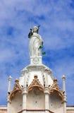 Standbeeld van rechtvaardigheid op het paleis van de Doge, Venetië Stock Afbeelding