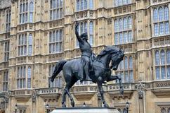 Standbeeld van Richard I royalty-vrije stock foto