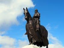 Standbeeld van Robert Bruce, Bannockburn Royalty-vrije Stock Foto