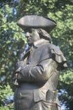 Standbeeld van Robert Morris stock afbeeldingen