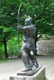 Standbeeld van Robin Hood Royalty-vrije Stock Afbeeldingen