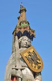 Standbeeld van Roland, Bremen, Duitsland Stock Foto's