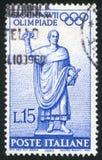 Standbeeld van Roman Consul Stock Afbeelding
