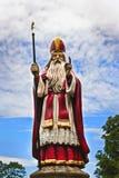 Standbeeld van Saint Nicolas Royalty-vrije Stock Afbeeldingen