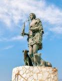 Standbeeld van San Vito Martire, de bescherming van de vissers Royalty-vrije Stock Foto's