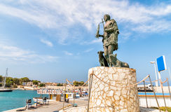 Standbeeld van San Vito Martire, de bescherming van de vissers Royalty-vrije Stock Fotografie