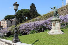 Standbeeld van Savonarola Royalty-vrije Stock Foto's