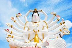 Standbeeld van Shiva Stock Foto's
