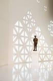 Standbeeld van Silpa Bhirasri bij Museum van Eigentijdse Kunst (MOCA) op 10 Januari, 2016 Royalty-vrije Stock Foto
