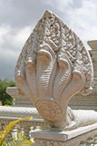 Standbeeld van slanggod Naga Royalty-vrije Stock Afbeeldingen