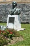 Standbeeld van Thomas Moore in de Bermudas. royalty-vrije stock foto