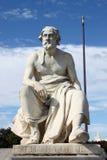 Standbeeld van Thukydides royalty-vrije stock foto