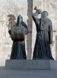 Standbeeld van twee Nazarenes Royalty-vrije Stock Afbeeldingen