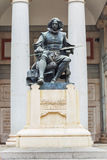 Standbeeld van Velazquez in Museo del Prado van Madrid Stock Foto