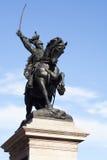 Standbeeld van Victor Emmanuel ii-Venetië Stock Afbeeldingen