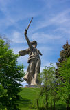 Standbeeld 2 van Volgograd Stock Afbeeldingen