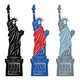Standbeeld van Vrijheid vector illustratie