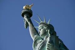 Standbeeld van Vrijheid. royalty-vrije stock afbeelding