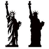 Standbeeld van Vrijheid 2 stock illustratie