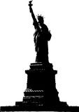 Standbeeld van Vrijheid Stock Afbeelding