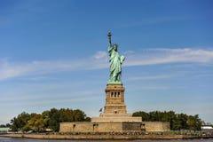 Standbeeld van Vrijheid in de Stad van New York stock afbeelding