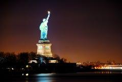 Standbeeld van Vrijheid, de Stad van New York Stock Afbeelding
