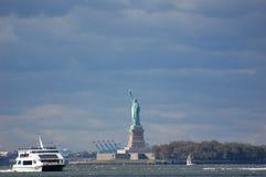 Standbeeld van Vrijheid, de Stad van New York Royalty-vrije Stock Fotografie