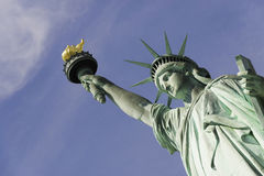 Standbeeld van Vrijheid, de Stad van New York Royalty-vrije Stock Afbeeldingen