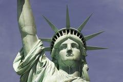 Standbeeld van Vrijheid, de Stad van New York Stock Fotografie