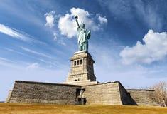 Standbeeld van Vrijheid in de Stad van New York, de V.S. Royalty-vrije Stock Afbeeldingen