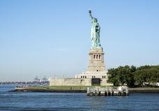 Standbeeld van Vrijheid - 31 Juli, 2017, Liberty Island, de Haven van New York, NY Royalty-vrije Stock Fotografie
