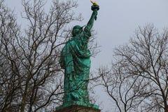 Standbeeld van Vrijheid, Liberty Island, de Stad van New York, de V.S. stock foto's