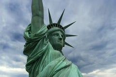 Standbeeld van Vrijheid in New York Stock Afbeeldingen