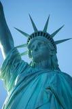 Standbeeld van vrijheid New York Stock Afbeeldingen