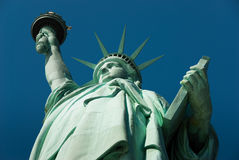 Standbeeld van Vrijheid New York Stock Foto