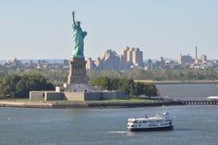 Standbeeld van Vrijheid in New York stock foto's