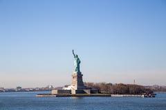 Standbeeld van vrijheid, New York stock fotografie