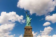 Standbeeld van Vrijheid in New York, de V stock fotografie