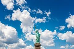 Standbeeld van Vrijheid NYC Stock Afbeelding