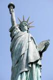 Standbeeld van Vrijheid, Parijs Royalty-vrije Stock Foto's