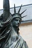 Standbeeld van Vrijheid in Parijs Stock Foto