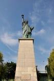 Standbeeld van vrijheid, Parijs Stock Foto
