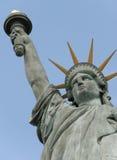 Standbeeld van vrijheid in Parijs Frankrijk stock foto's