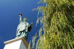 Standbeeld van Vrijheid, Parijs, Frankrijk. Royalty-vrije Stock Foto's