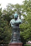 Standbeeld van Zelinka Wenen Royalty-vrije Stock Foto's
