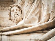Standbeeld van Zeus royalty-vrije stock fotografie