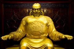 Standbeeld van Zweempje Tai Zong Royalty-vrije Stock Foto's