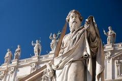 Standbeeld in Vatikaan royalty-vrije stock foto