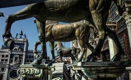 Standbeeld in Venetië Royalty-vrije Stock Afbeeldingen